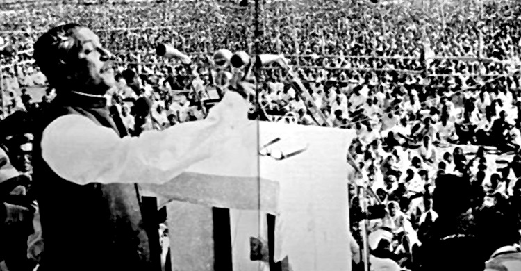 বঙ্গবন্ধুর ৭ই মার্চের ভাষণ নিয়ে পূর্ণদৈর্ঘ্য সিনেমা