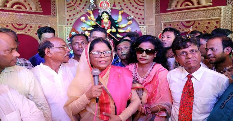 শেখ হাসিনা বিশ্ব শান্তির দূত : লক্ষ্মীপুরে ফরিদুন্নাহার লাইলী