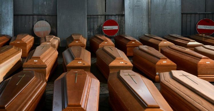 ইতালিতে একদিনে আরও ৭৫৬ জনের মৃত্যু
