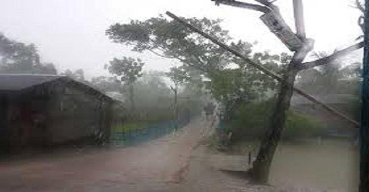 ঘূর্ণিঝড় 'আম্পান'র প্রভাবে লক্ষ্মীপুরে বৃষ্টি শুরু