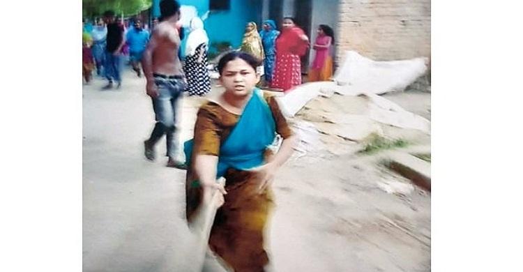 মজুপুরে জমির বিরোধে হামলা-ভাংচুর