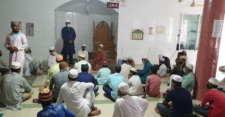 আ.লীগ নেতা রহিম সওদাগরের জন্য মিলাদ ও দোয়া