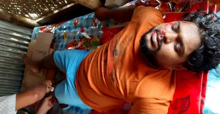 সড়ক দূর্ঘটনায় সংবাদকর্মী হাসান মাহমুদ আহত