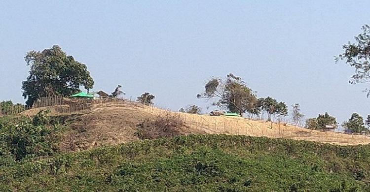 রাখাইন সীমান্তে এখনও অবস্থান করছে মিয়ানমারের সেনারা