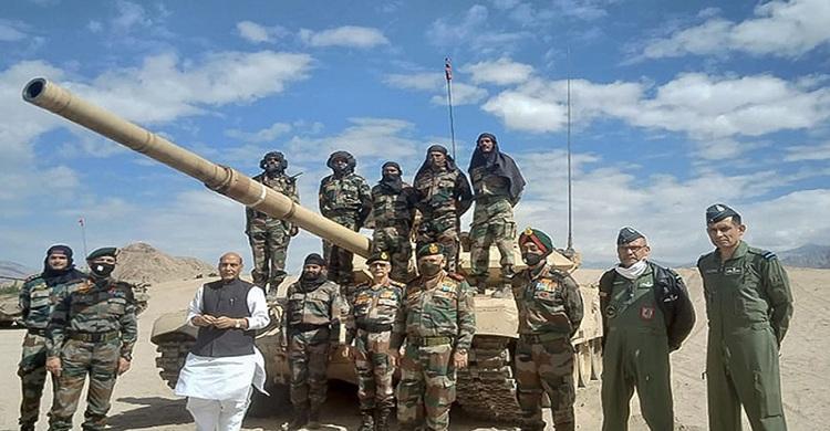 চীনকে কড়া বার্তা, যুদ্ধের জন্য প্রস্তুত ভারতীয় সেনাবাহিনী
