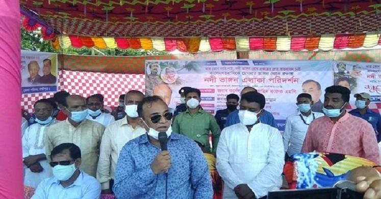 অতিদ্রুত কমলনগর-রামগতি ভাঙ্গন রোধে প্রকল্প বাস্তবায়ন করা হবে: জাহিদ ফারুক