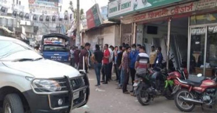 রায়পুরে বিএনপির মেয়র প্রার্থীর বাসার সামনে 'ককটেল' বিস্ফোরণ