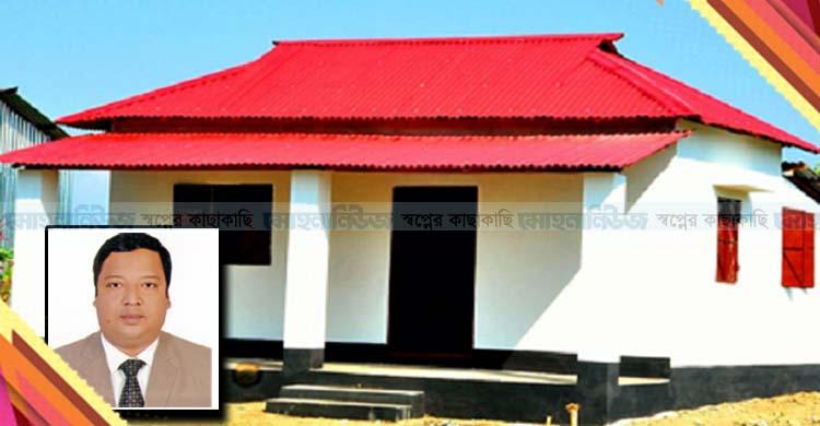 মানসম্মত টেকসই ঘর উপহারে বদ্ধপরিকর-বললেন ইউএনও